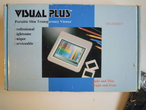 VISUAL PLUS PORTABLE SLIM TRANSPARENCY VIEWER VP-6050V